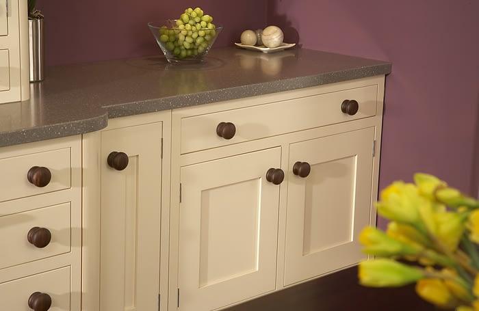 Shaker Ivory cupboards