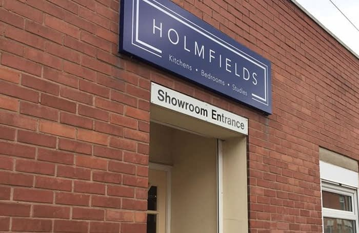 Holmfields Showroom Entrance